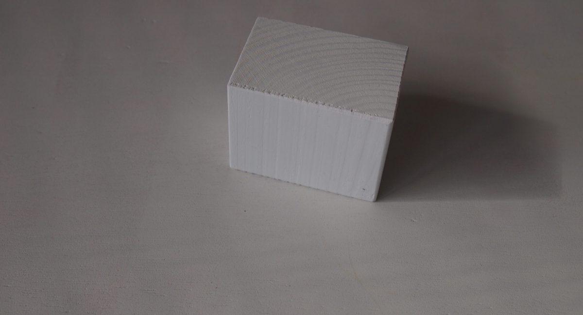 valkoinen palikka